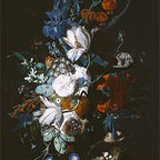Vase with Flowers, c.1720 | Huysum | Canvas Print - Condition: Canvas Print - Unframed