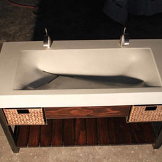 Modern Bathroom Vanities And Sink Consoles by Work Shop Denver