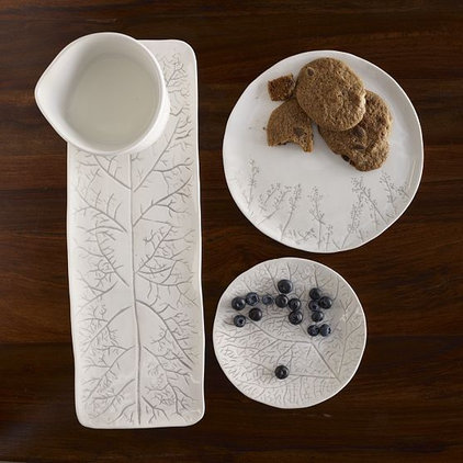 modern serveware by West Elm
