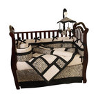 Animal Safari 9-Piece Crib Bedding Set by Sweet Jojo Designs