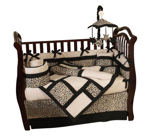 Sweet Jojo Designs - Animal Safari 9-Piece Crib Bedding Set by Sweet Jojo Designs - Perfect for your wild child, this crib bedding set has everything you need to deck out the nursery in style. The neutral color palette and exotic, animal print blend beautifully with various wood finishes.