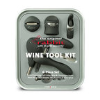 Metrokane - Metrokane Rabbit Corkscrew Wine Tool Kit - Great for geeks and wine lovers alike! This corkscrew wine tool kit is a six-piece barware set you will cherish. Affordable and great for gift giving, the user-friendly ergonomic design will make even the most uncoordinated wine openers look suave.