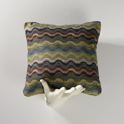Homeware - Homeware Waves Striped Accent Throw Pillow - Set of 2 - HWP011-18-109AZU - Shop for Pillows from Hayneedle.com! The Homeware Waves Striped Accent Throw Pillow - Set of 2 will add rich contemporary style wherever you choose to place them. In your choice of size and color this set brings beautiful hues together in an artfully textured weave. Crafted in the USA. Not available for sale in or delivery to the state of California. About HomewareHomeware is driven by an innovative spirit and a passion to change the way America buys and lives with furniture. Homeware wants to save you from shopping in a big box bringing home a smaller box and ultimately being psychologically harmed by your encounter with a slew of parts and incomprehensible assembly instructions. Instead of that Homeware supports your choice to shop in your jammies and Homeware is determined to support your success. Homeware chairs are made to live and move with you. They come to you in two pieces within two special boxes and regardless how rudimentary your handyman skills may be YOU can assemble them without tools. Within minutes they assure you you will be enjoying a chair that's as sturdy and solid as any you've beheld. The secret? It's designer and engineer Jon Koch's ingenious and revolutionary fastening device which makes possible speedy chair assembly by the mechanically uninitiated. Homeware keeps a stable of furniture savants on call 24-7 to answer your questions including but not limited to questions about their chairs and pillows and they stand behind their products with bravado.