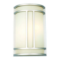 Design House - Design House 517706 Easton 2 Light Ambient Lighting Wall Sconce - Design House 517706 Functional 2 Light ADA Wall Sconce from the Easton CollectionWith two bulbs, the Easton Wall Sconce provides excellent illumination in hallways and walkways and meets ADA requirements.Features: