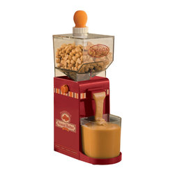 Nostalgia - Nostalgia Electrics Electric Nut Butter Maker - Now you can make delicious, natural peanut butter at home anytime. The Nostalgia Electrics Electric Nut Butter Maker makes it fast and easy to whip up a variety of nut butters.