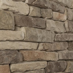 Black Bear - Black Bear Manufactured Stone - Ledge Stone - Ledge Only [10.0 sq ft/box] - Mossy Creek / Ledge Stone 10 Sq ft Flat -The Ledge Stone Collection brings exteriors into focus, with tailored corners and contemporary profiles that lend a sense of permanence. This is a strategy to boost your curb appeal. But, it's also a means to invest in a high-performing surface designed to last, and in all kinds of climates. And, if you're looking to create stand-out interior wall surfaces, this collection can be applied in that way, too.       Designed to be lightweight and DIY-friendly, this is exterior cladding that is easy to install over any studded wall that meets code and directly over most masonry substrates. And as mentioned, it is also made to last, with a robust 50 year limited warranty that makes this a real investment in your property as a whole.