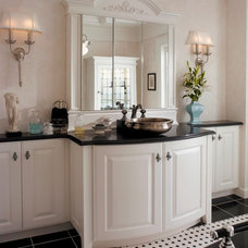 traditional bathroom vanities and sink consoles by Heart of the Home Kitchens LLC
