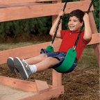 PlayStar Playsets Commercial Grade Swing Seat - The PlayStar Commercial Grade Swing Seat is for kids, but it'll hold dad too. The included rubber-coated chain is our thickest, with a 4000 lb. burst strength. That ought to do it.About PlayStarPlayStar was started in the Heartland of America, in the garage of an entrepreneur with this dream: to build a foundation of people who were hardworking, friendly, professional and self-motivated to do the right thing, to offer the ultimate customer service and provide the highest value, best quality and most innovative products. All PlayStar Playsets are designed following company safety standards that exceed government guidelines, to enhance your child's physical development and social skills.