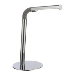 Lite Source - Lite Source LS-22339 Biagio LED Desk Lamp - Features: