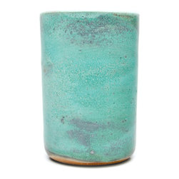 Object & Totem Tumbler Cup, Patina - Turquoise. You had me at turquoise.
