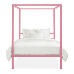 Architecture Bed, Blossom - I love this bed in pink. It's fantastic for a little girl's bedroom and fabulous for a woman's bedroom with green chinoiserie wallpaper.