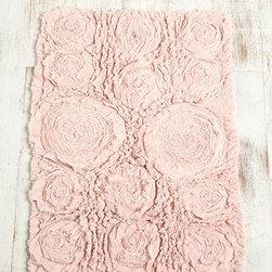 UrbanOutfitters.com > Frayed Roses Bath Mat -
