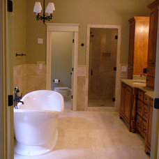 Traditional Bathroom by Fitzgerald Construction