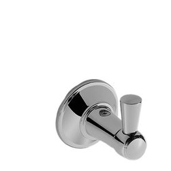 Toto - Toto YH200#PN Transitional Collection Series A Robe Hook - Toto's YH200#PN is a Transitional Collection Series A Robe Hook from the Transitional A series, and it comes with a beautiful Polished Nickel finish. This robe hook features a solid metal construction, and includes the mounting hardware for both drywall and tile mounting.