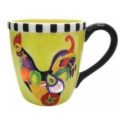 WL - 4 Inch Rooster Salad Decorated Collectible Rooster 14 Oz Mug Holds - This gorgeous 4 Inch Rooster Salad Decorated Collectible Rooster 14 Oz Mug Holds has the finest details and highest quality you will find anywhere! 4 Inch Rooster Salad Decorated Collectible Rooster 14 Oz Mug Holds is truly remarkable.