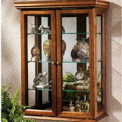 Design Toscano - Wall Curio Cabinet - Exemplifying everything that ...