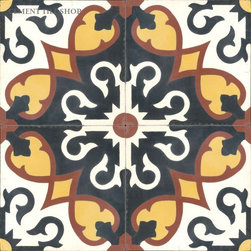 Moroccan Collection - Sanctuaire Cement Tile from Cement Tile Shop