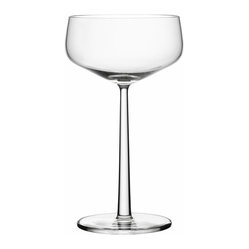 Essence Cocktail Bowl, Set of 2, 10.25 Oz. Clear