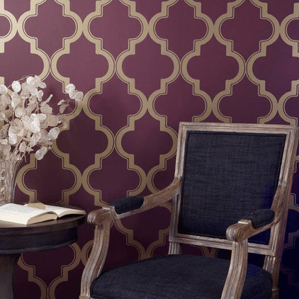 Eclectic Wallpaper by purehome