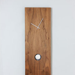 Control Brands - American Beauty Wall Clock - - Material: Wood  - American walnut clock, Danish designer with high quality high torque movements Control Brands - NTB1008082NU0101