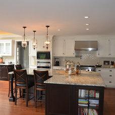 Traditional Kitchen by Vincentsen•Blasi Architecture, LLC