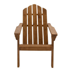 Cool Wood Adirondack Chair - Description: