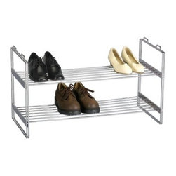 Household Essentials Stackable Shoe Shelf - About Household EssentialsHousehold Essentials is a bold, bright, and innovative company, working hard to bring you the foundations and modern innovations of laundry and storage essentials. Over 200 years of experience provide the company with the vision necessary for creating the perfect products for you and the credentials worthy of winning Cradle to Cradle's Silver Certification. Let Household Essentials accompany you into the future while offering you the means to have a wonderfully efficient home today.