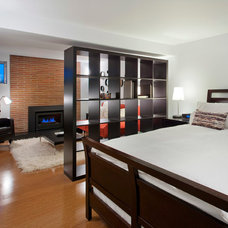 Contemporary Bedroom by Imprint Architecture and Design, LLC