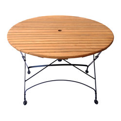 Rebecca Large Round Table With Hole