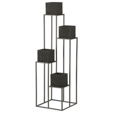 Modern Plant Stands And Telephone Tables by Crate&Barrel