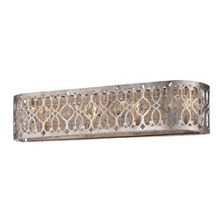 Minka Lavery - Minka Lavery 6844-276 4 Light Bathroom Bath Bar from the Lucero Collection - Four Light Bathroom Bath Bar from the Lucero CollectionFeatures: