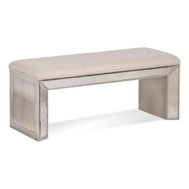 Bassett Mirror - Bassett Mirror Murano Bench - Murano Bench