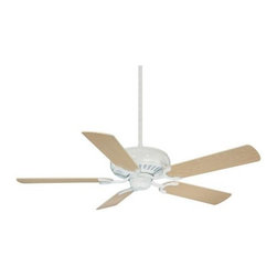 "Savoy House - Savoy House 52-SGC-5RV-80 Pine Harbor 52"" Ceiling Fan in Matte White 52-SGC-5RV- - Adaptable to a wide range of spaces, this simple ceiling fan flaunts signature Savoy House quality with a classic Matte White finish. Features reversible fan blades for optimal customization Choose between White and Weathered Patina blade colors.Blade Finish: White Weathered Patina Blade Pitch: 12 Blades Included: Yes Collection: Pine Harbor Downrod Width: 1 2 Finish: Matte White Height: 14-2 7 Number of Blades: 5 Safety Rating: UL, CUL Style: Mission Suggested Room Fit: Bedroom, Living Room, Office Voltage: 120 Weight: 16.1 Width: 52"