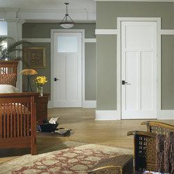 The Craftsman Interior Door -