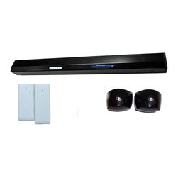Autoslide - Autoslide Automatic Pet Door Kit, Black - The Autoslide Infrared Pet Door Kit is perfect for pet lovers. This bundle is designed for both pets and pet owners to enjoy hands free access to the outside of your home. With the two Infrared Pet Motion sensors, you will be able to turn your existing sliding glass doors into true automatic pet doors.