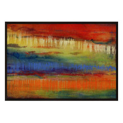 Paragon - Contempo II - Framed Art - Each product is custom made upon order so there might be small variations from the picture displayed. No two pieces are exactly alike.