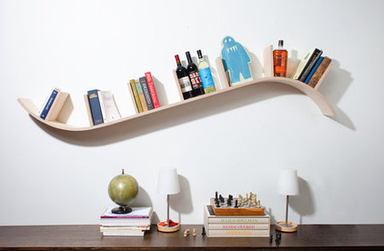 Contemporary Display And Wall Shelves  by Etsy