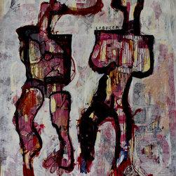 "Dariusz Labuzek - Vertical Large 108"" X 96"" Original Painting - My acrylic painting on canvas approximately 108x96"