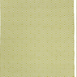 Fab Habitat - Veria - Green (6' x 9') - Grecian elegance is the inspiration for the modern geometric pattern of this eco-chic rug. Hand woven from 100 perfect recycle cotton, this stunning rug will cover your floor with so much sophistication and softness. Available in a variety of colors and sizes.