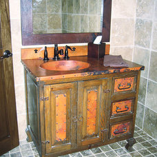 Traditional Bathroom by RusticSinks.com