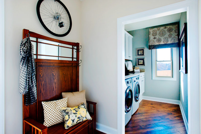 Traditional Laundry Room by Schumacher Homes