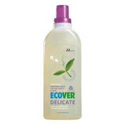 Ecover Delicate Wash - Case Of 12 - 32 Oz - Ecover Delicate Wash formula is gentle yet effective. It is ideal for fine fabrics, silks, and wool because it will preserve the softness of delicate fibers and protect their colors. Because it is made from biodegradable, plant-based ingredients the formula is safe for your skin, as well as the environment.