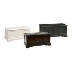 Carolina Chair & Table - Carolina Chair & Table Antique Camden Blanket Chest - Durable and multi-functional, this classic blanket chest adds weight and character to any room. Use it at the foot of your bed to store linens or as a charming coffee table with hidden storage.