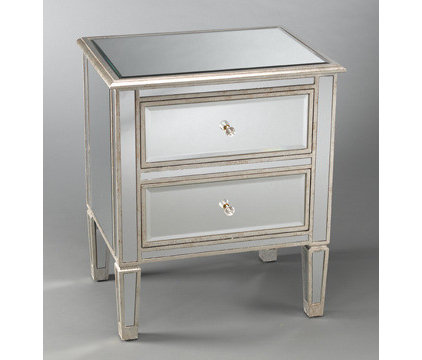 Eclectic Nightstands And Bedside Tables by tchotchkechic.com