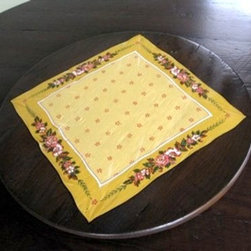 Lazy Susan With Custom Hand Painting - Made by http://www.ecustomfinishes.com