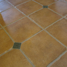 Contemporary Floor Tiles by Kerry O. Furlani