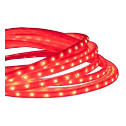 American Lighting - 120-TL60 Indoor/ Outdoor LED Tape-Rope Hybrid Light - Red - Easy to use, flexible, dimmable option with 3528 LED performance. Great for use in coves, restaurants and bars, retail displays, reception areas, uplighting and more.