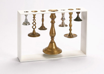 Eclectic Candleholders by Reddish