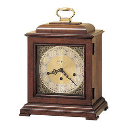 HOWARD MILLER - Howard Miller Samuel Watson Key-Wind Triple Chime Mantel Clock - Named after the famous English clockmaker of the late 1600s.