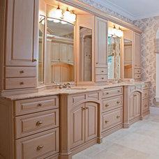 Traditional Bathroom by Lisa Davenport Designs